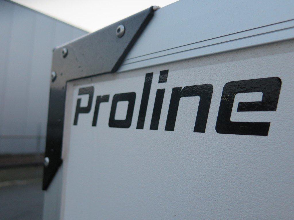 Proline gesloten aanhanger 304x151x180cm 2500kg Aanhangwagens XXL West Brabant 2.0 zwarte hoeken