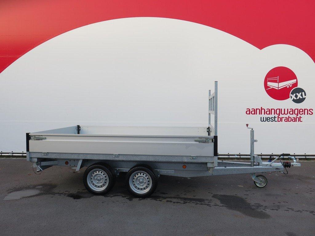 Proline kipper 301x185cm 3500kg Aanhangwagens XXL West Brabant 2.0 vlak