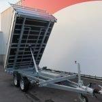 Proline kipper 301x185cm 3500kg Aanhangwagens XXL West Brabant 2.0 voorkant