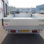 Proline kipper 331x185cm 3500kg Aanhangwagens XXL West Brabant 2.0 achterkant