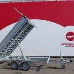 Proline kipper 331x185cm 3500kg Aanhangwagens XXL West Brabant 2.0 hoofd