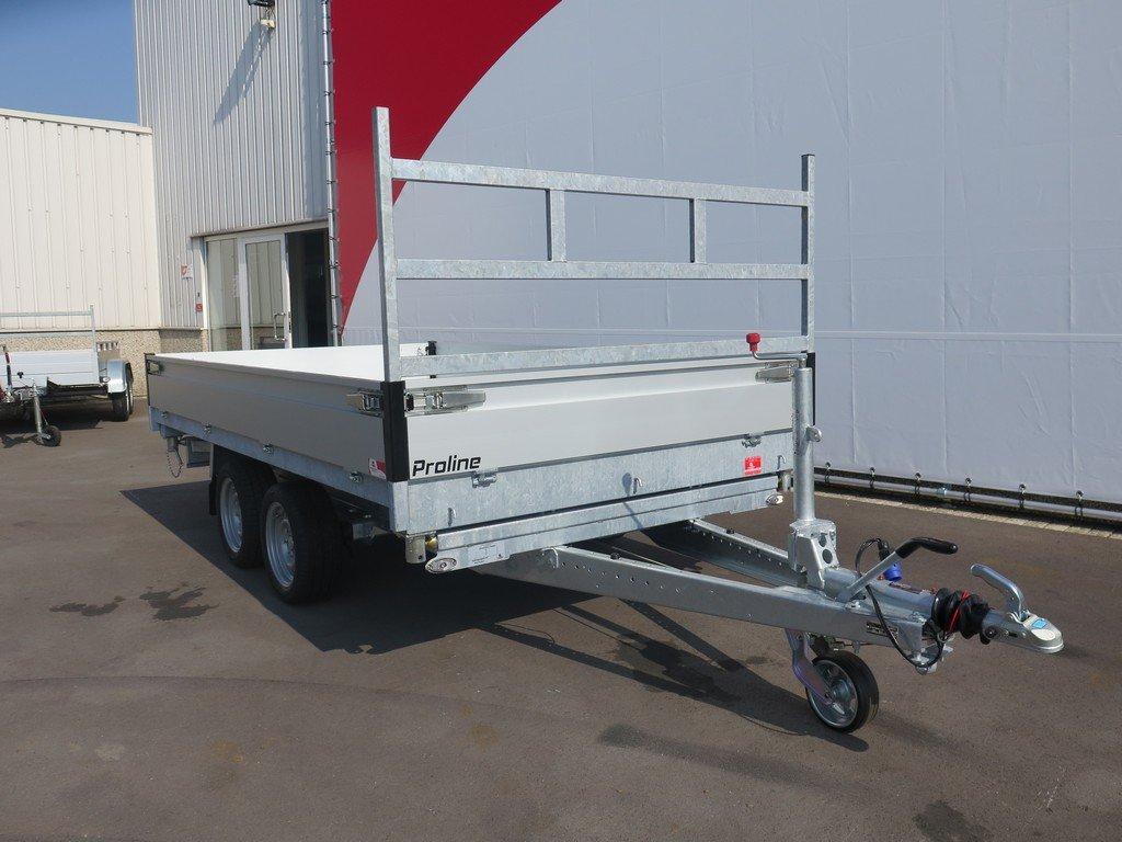 Proline kipper 331x185cm 3500kg Aanhangwagens XXL West Brabant 2.0 voorkant