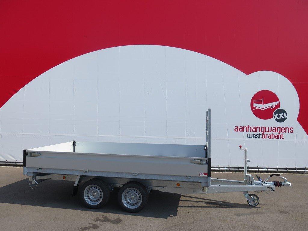 Proline kipper 331x185cm 3500kg Aanhangwagens XXL West Brabant 2.0 zijkant