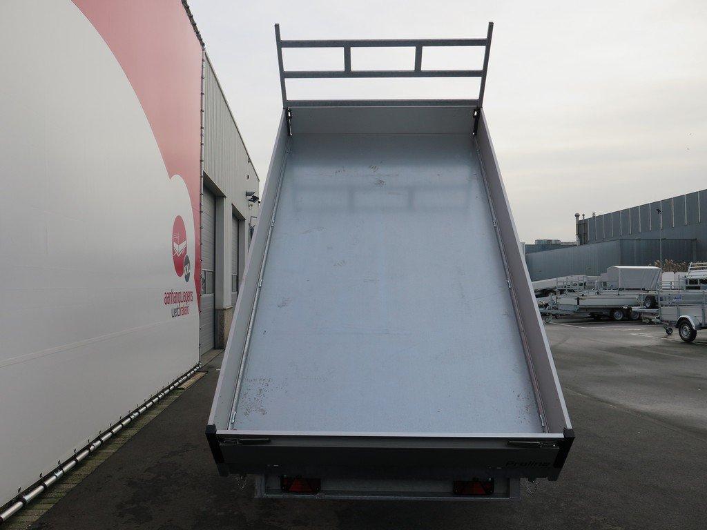 Proline kipper 351x185cm 2700kg Aanhangwagens XXL West Brabant 3.0 bak