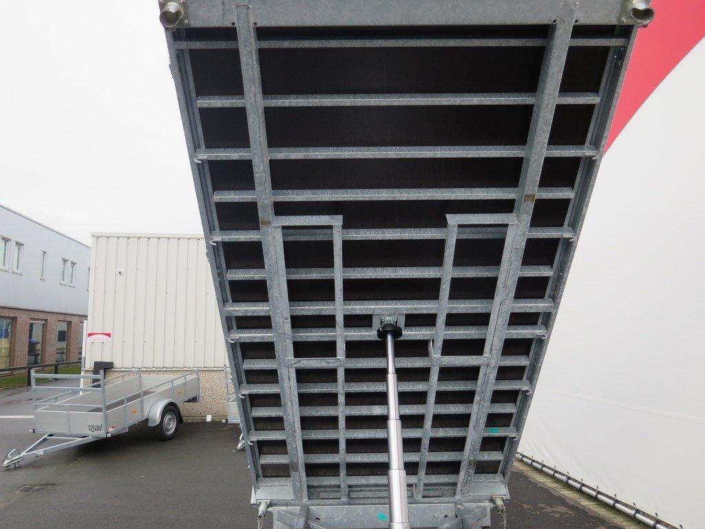 Proline kipper 351x185cm 2700kg Aanhangwagens XXL West Brabant 3.0 kant bak