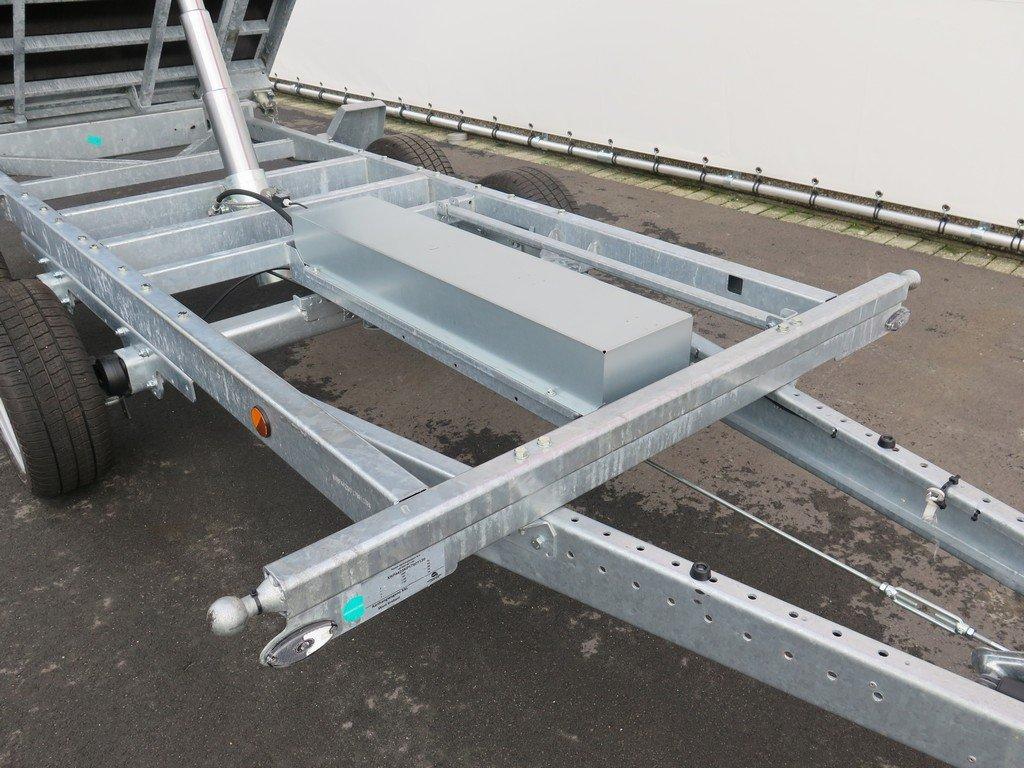 Proline kipper 351x185cm 2700kg Aanhangwagens XXL West Brabant 3.0 onderstel