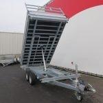 Proline kipper 351x185cm 2700kg Aanhangwagens XXL West Brabant 3.0 voorkant
