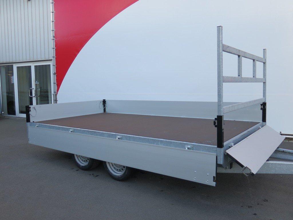 Proline plateauwagen 351x185cm 2000kg Aanhangwagens XXL West Brabant 3.0 vlak Aanhangwagens XXL West Brabant