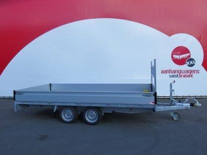 Proline plateauwagen 401x202cm 2700kg verlaagd Aanhangwagens XXL West Brabant 3.0 hoofd