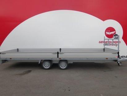 Proline plateauwagen 603x222cm 3500kg verlaagd Aanhangwagens XXL West Brabant 2.0 hoofd