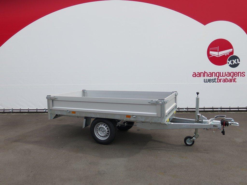 Saris plateauwagen 256x150cm 1500kg Saris plateauwagen 255x135cm 1400kg Aanhangwagens XXL West Brabant 3.0 hoofd
