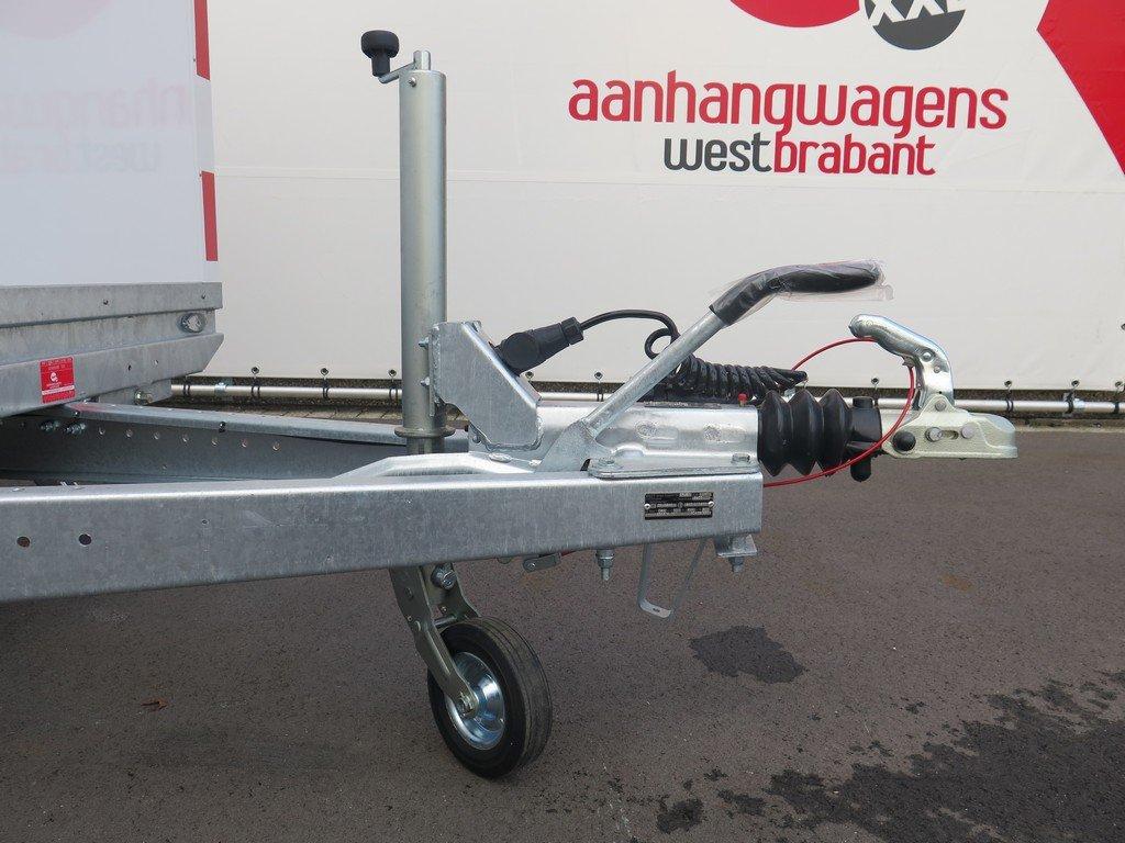 Traditionele schaftwagen Aanhangwagens XXL West Brabant 3.0 dissel Aanhangwagens XXL West Brabant