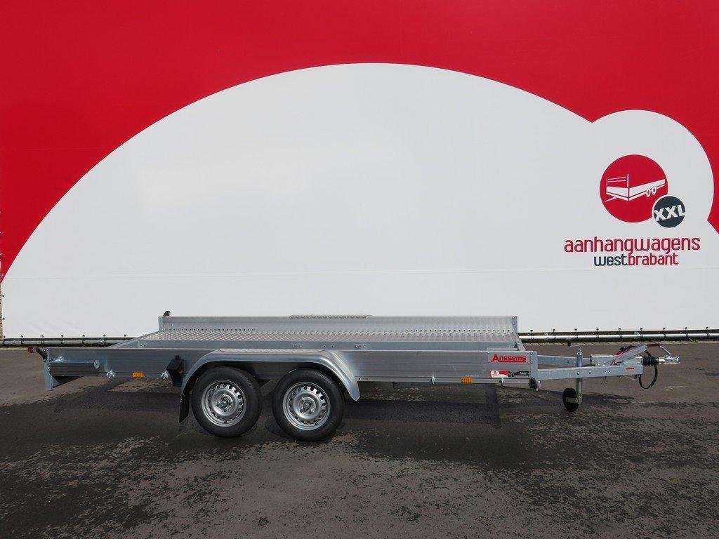 Anssems autotransporter 400x188cm 1500kg Aanhangwagens XXL West Brabant 3.0 hoofd Aanhangwagens XXL West Brabant