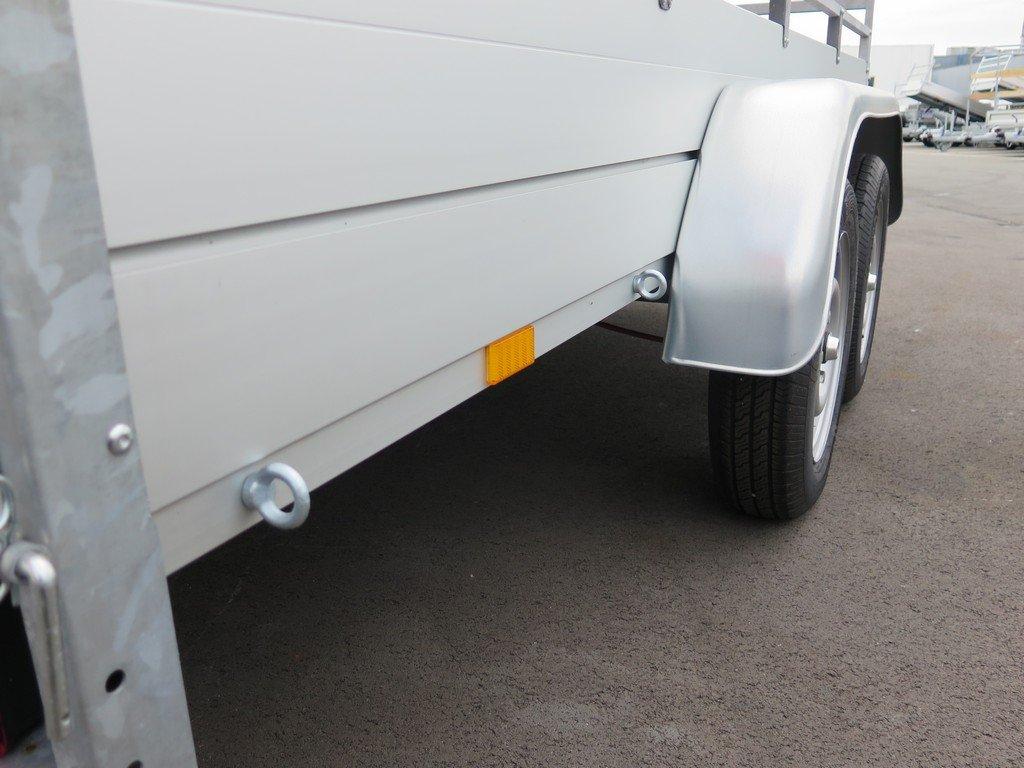 Anssems tandemas aanhanger 301x126cm 1500kg Aanhangwagens XXL West Brabant 2.0 bindogen Aanhangwagens XXL West Brabant