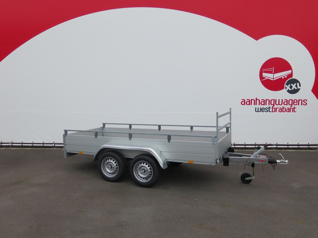 Anssems tandemas aanhanger 301x126cm 1500kg Aanhangwagens XXL West Brabant 2.0 hoofd Aanhangwagens XXL West Brabant