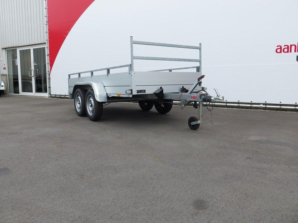 Anssems tandemas aanhanger 301x126cm 1500kg Aanhangwagens XXL West Brabant 2.0 schuin voor Aanhangwagens XXL West Brabant