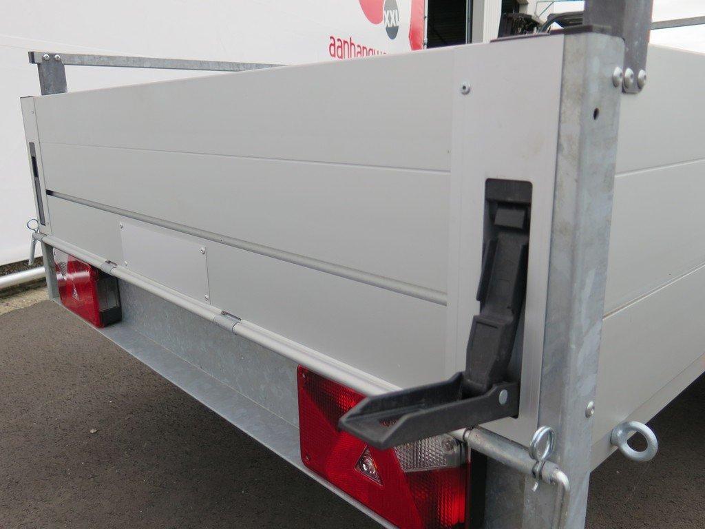 Anssems tandemas aanhanger 301x126cm 1500kg Aanhangwagens XXL West Brabant 2.0 sluiting Aanhangwagens XXL West Brabant