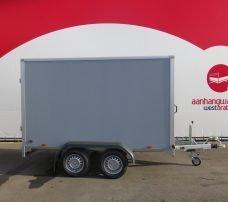 Saris gesloten aanhanger 306x154x180cm 2000kg grijs Aanhangwagens XXL West Brabant 2.0 hoofd
