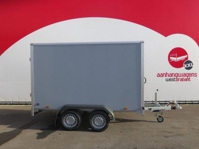 Saris gesloten aanhanger 306x154x180cm 2000kg grijs Aanhangwagens XXL West Brabant 2.0 hoofd Aanhangwagens XXL West Brabant