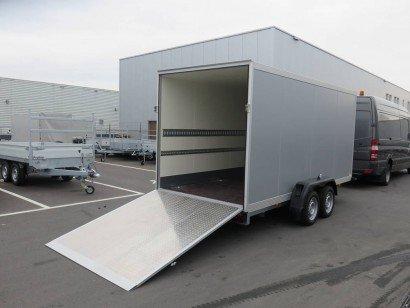 Proline gesloten 426x175x190cm 2600kg Aanhangwagens XXL West Brabant klep
