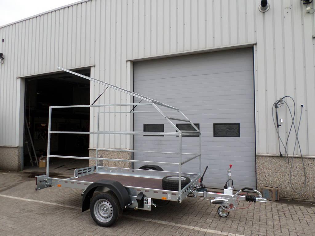 Proline zakbaar met huif 260x155x170cm 1400kg motortrailer Aanhangwagens XXL West Brabant opbouw Aanhangwagens XXL West Brabant