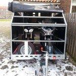 Proline zakbaar met huif 260x155x170cm 1400kg motortrailer Aanhangwagens XXL West Brabant praktijk Aanhangwagens XXL West Brabant