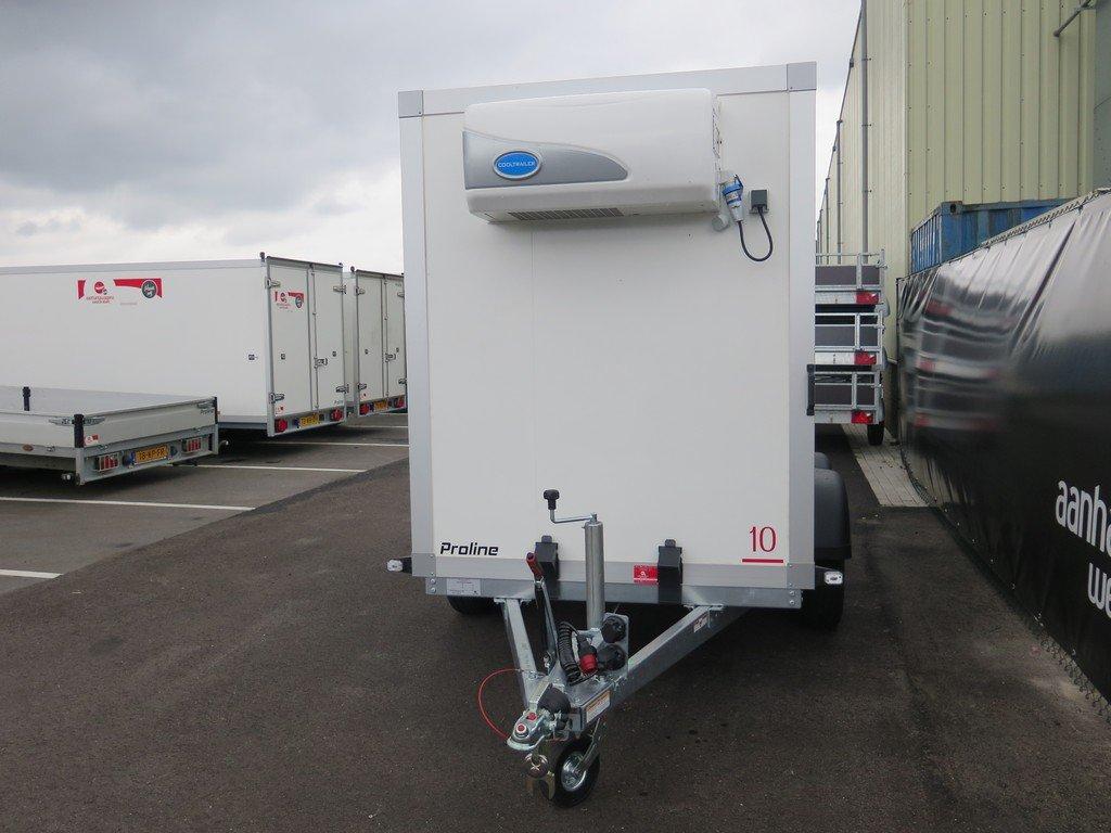 Verhuur 7. 8m3 koelwagen 300x146x180cm Aanhangwagens XXL West Brabant 2.0 voorkant