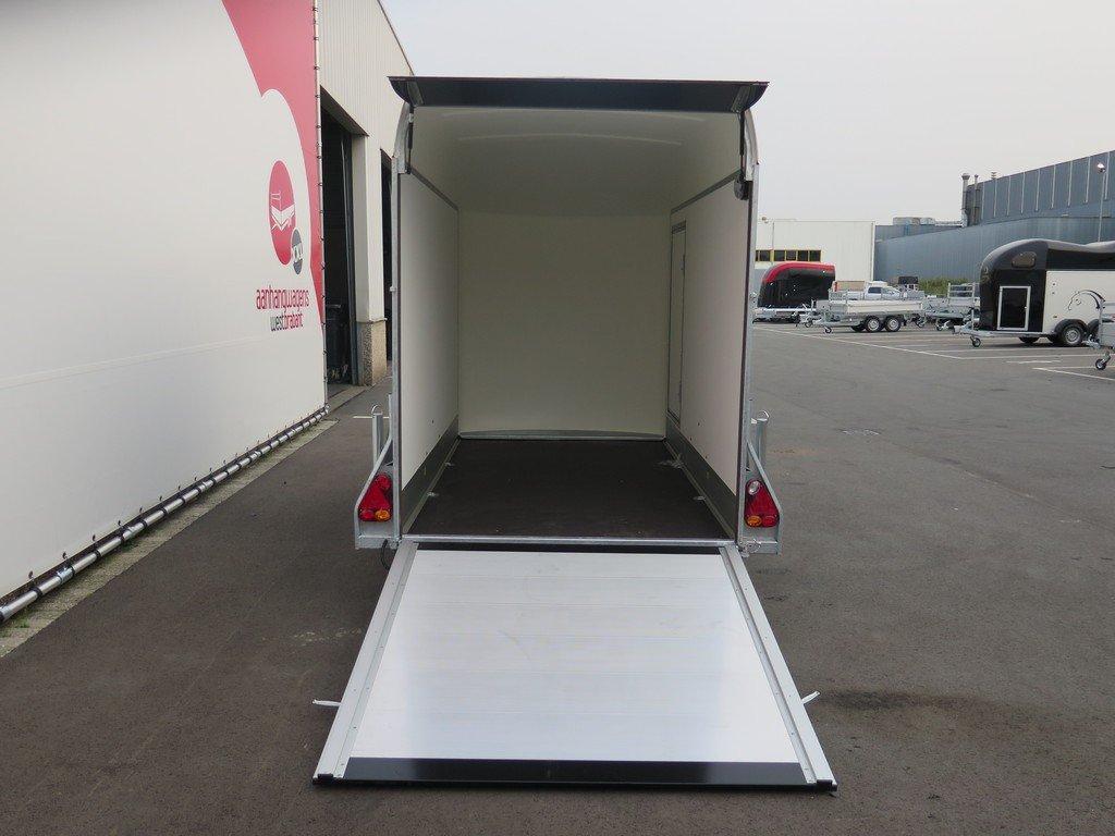 Easyline motortrailer 302x150x195cm 1300kg gesloten Aanhangwagens XXL West Brabant 2.0 achter open Aanhangwagens XXL West Brabant