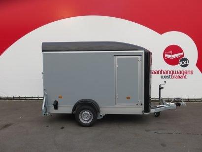Easyline motortrailer 302x150x195cm 1300kg gesloten Aanhangwagens XXL West Brabant 2.0 hoofd