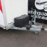 Verhuur 6. 8m3 koelwagen 300x146x180cm Aanhangwagens XXL West Brabant disselkist