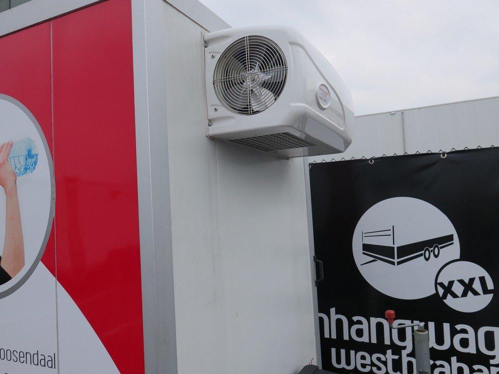 Verhuur 6. 8m3 koelwagen 300x146x180cm Aanhangwagens XXL West Brabant koelmotor