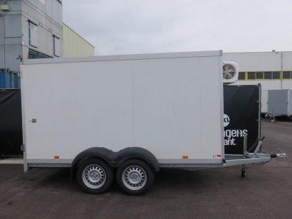 Verhuur 9. 12m3 gesloten aanhanger 350x160x180cm Aanhangwagens XXL West Brabant hoofd