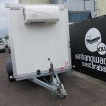 Verhuur 9. 12m3 koelwagen 350x160x180cm Aanhangwagens XXL West Brabant voorkant