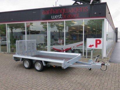Hulco Basic machinetransporter 294x150cm 2600kg Aanhangwagens XXL West Brabant hoofd