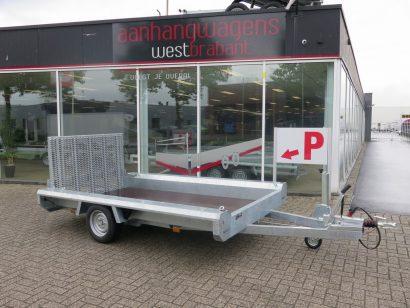 Hulco machinetransporter 300x150cm 1800kg Basic Aanhangwagens XXL West Brabant 2.0 hoofd