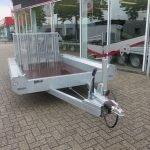 Hulco machinetransporter 300x150cm 1800kg Basic Aanhangwagens XXL West Brabant 2.0 voorkant Aanhangwagens XXL West Brabant