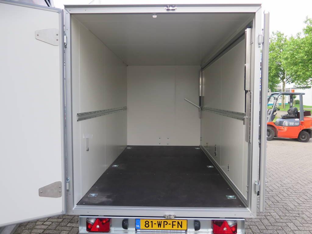 Proline gesloten aanhanger 365x175x190cm 3000kg Aanhangwagens XXL West Brabant binnenkant