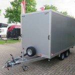 Proline gesloten aanhanger 365x175x190cm 3000kg Aanhangwagens XXL West Brabant overzicht