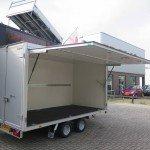 Proline gesloten aanhanger 365x175x190cm 3000kg Aanhangwagens XXL West Brabant zijklep Aanhangwagens XXL West Brabant