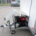 Proline koelwagen met stroomvoorziening Aanhangwagens XXL West Brabant aggregaat