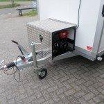 Proline koelaanhanger 300x146x180cm 2500kg met stroomvoorziening Proline koelwagen met stroomvoorziening Aanhangwagens XXL West Brabant dissel