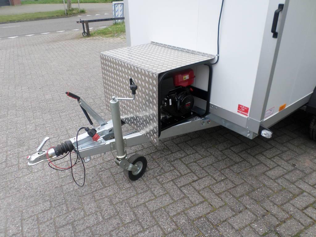 Proline koelwagen met stroomvoorziening Aanhangwagens XXL West Brabant dissel