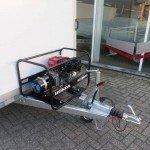 Proline koelwagen met stroomvoorziening Aanhangwagens XXL West Brabant generator