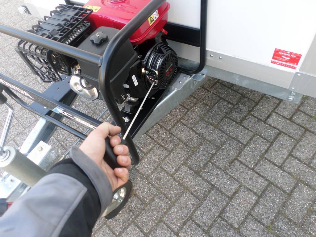 Proline koelaanhanger 300x146x180cm 2500kg met stroomvoorziening Proline koelwagen met stroomvoorziening Aanhangwagens XXL West Brabant touw