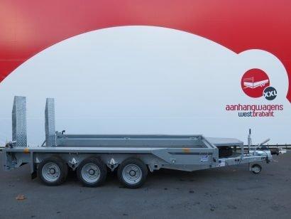 Ifor Williams machinetransporter 366x184cm 3500kg tridemas Aanhangwagens XXL West Brabant 2.0 hoofd