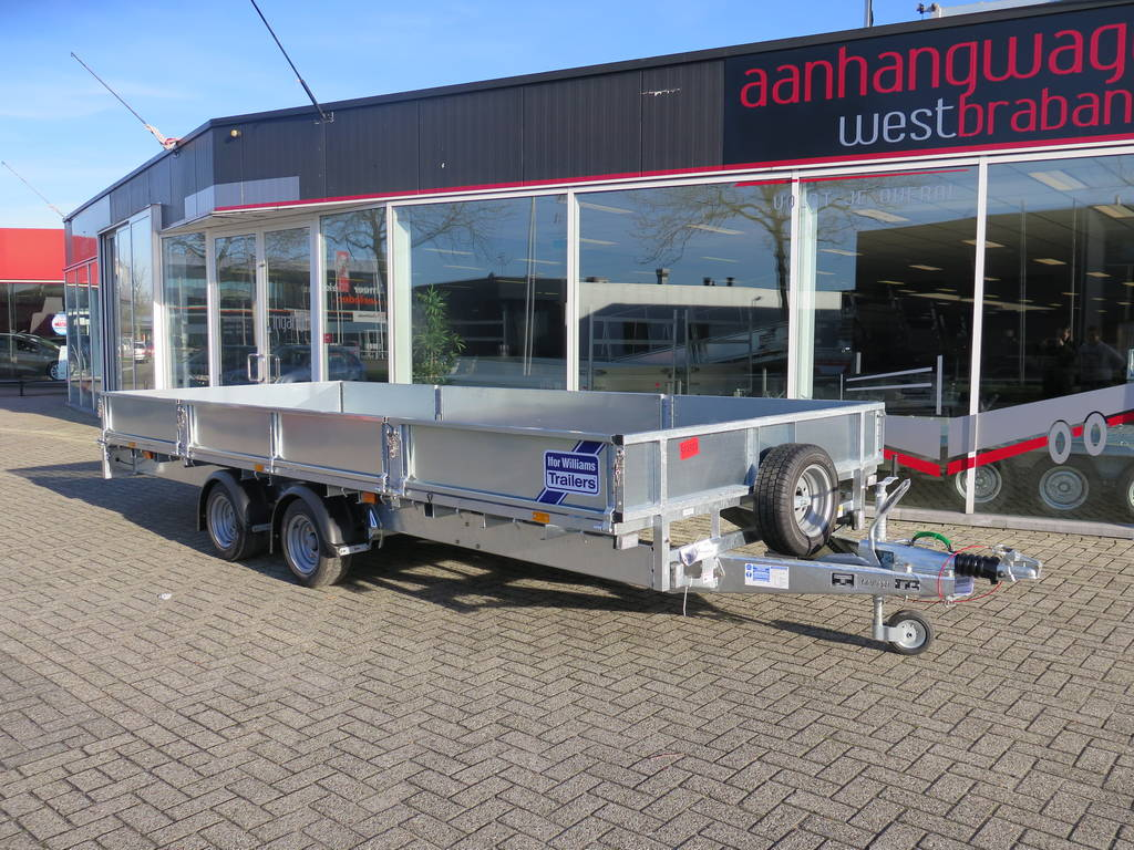 Ifor Williams plateau 547x225cm 3500kg 2-as Aanhangwagens XXL West Brabant hoofd Aanhangwagens XXL West Brabant
