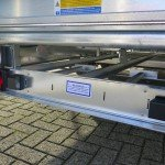 Ifor Williams plateau 547x225cm 3500kg 2-as Aanhangwagens XXL West Brabant sledes