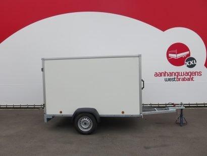 Easyline gesloten aanhanger 250x125x150cm 750kg Aanhangwagens XXL West Brabant hoofd