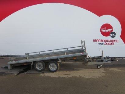 Hapert machinetransporter 350x160cm 2700kg 2006 tweedehands Aanhangwagens XXL West Brabant 2.0 hoofd
