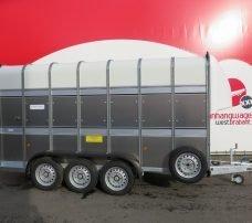 Ifor Williams veetrailer 427x178x213cm 3500kg tridemas Aanhangwagens XXL West Brabant 2.0 hoofd